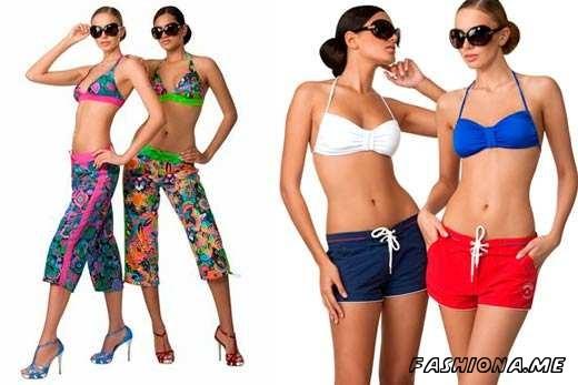 Пляжные женские шорты