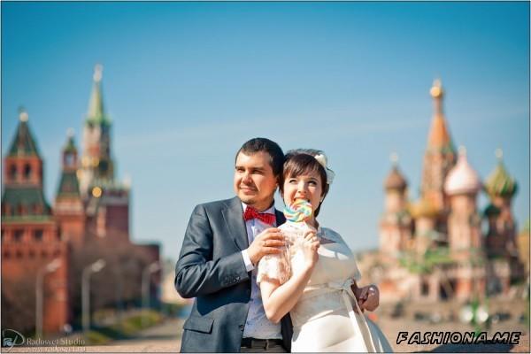 свадьба на красной площади
