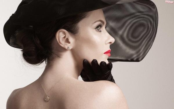элегантная женщина