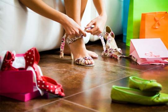 туфли разносить