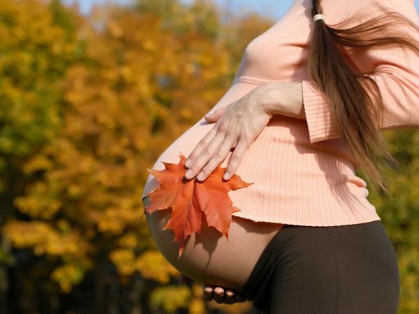 Зачатие ребёнка осенью